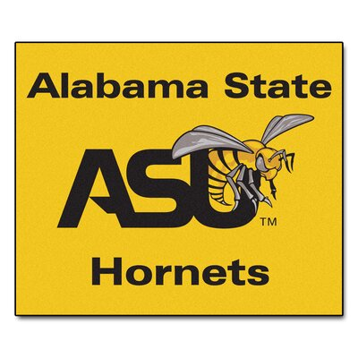 NCAA Alabama State University Indoor/Outdoor Area Rug
