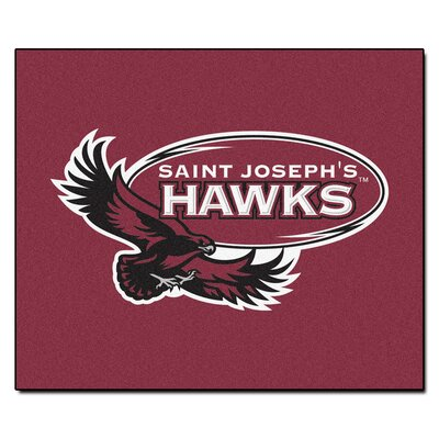 NCAA St. Josephs University Indoor/Outdoor Area Rug