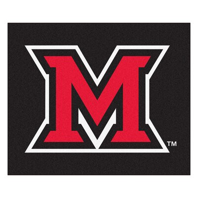 NCAA Miami University (OH) Indoor/Outdoor Area Rug