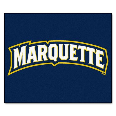 NCAA Marquette University Indoor/Outdoor Area Rug