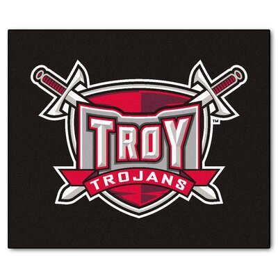 NCAA Troy University Indoor/Outdoor Area Rug