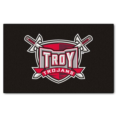 Collegiate NCAA Troy University Doormat