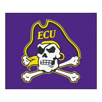 NCAA East Carolina University Indoor/Outdoor Area Rug
