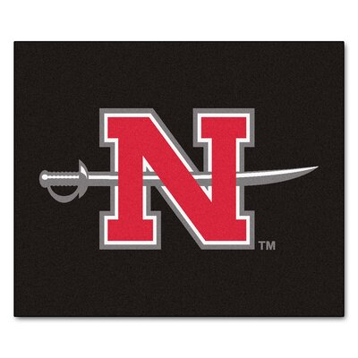 NCAA Nicholls State University Indoor/Outdoor Area Rug