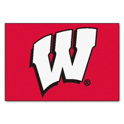 NCAA University of Wisconsin Starter Mat