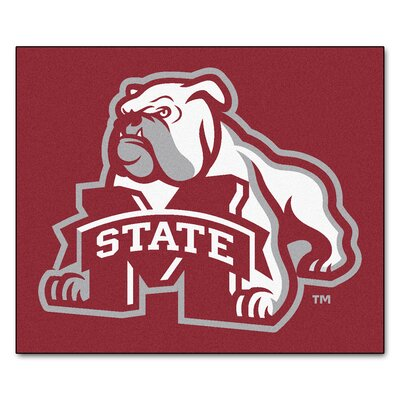 NCAA Mississippi State University Indoor/Outdoor Area Rug