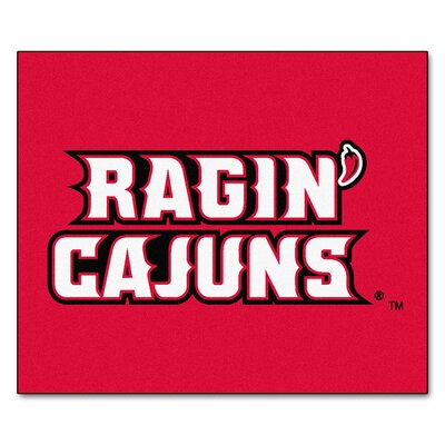 NCAA Louisiana-Lafayette Indoor/Outdoor Area Rug