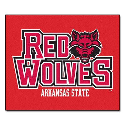 NCAA Arkansas State University Indoor/Outdoor Area Rug