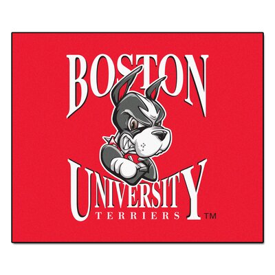 NCAA Boston University Indoor/Outdoor Area Rug