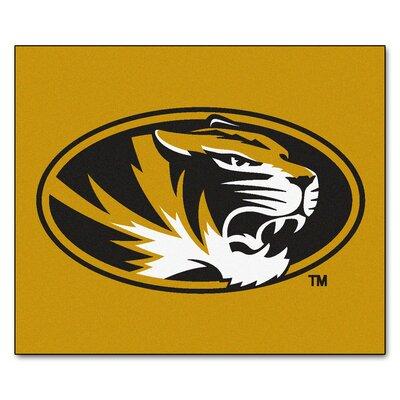 NCAA University of Missouri Indoor/Outdoor Area Rug