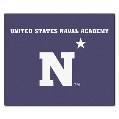 NCAA U.S. Naval Academy Indoor/Outdoor Area Rug