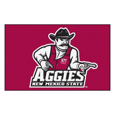Collegiate NCAA New Mexico State University Doormat