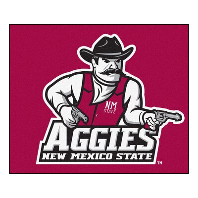 NCAA New Mexico State University Indoor/Outdoor Area Rug