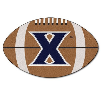 NCAA Xavier University Football Mat
