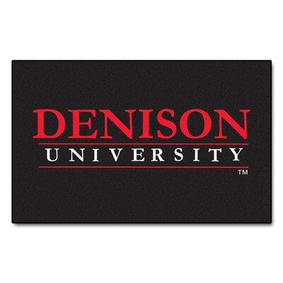 Collegiate NCAA Denison University Doormat