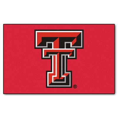Collegiate NCAA Texas Tech University Doormat