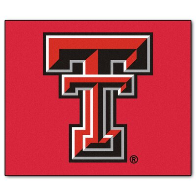 NCAA Texas Tech University Indoor/Outdoor Area Rug