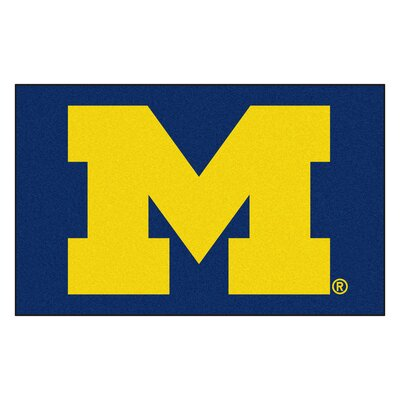 Collegiate NCAA University of Michigan Doormat