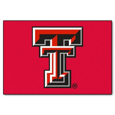 NCAA Texas Tech University Starter Mat