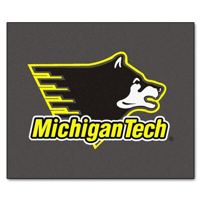 NCAA Michigan Tech Indoor/Outdoor Area Rug