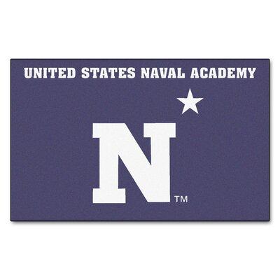 Collegiate NCAA U.S. Naval Academy Doormat