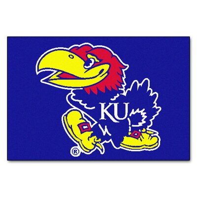 NCAA University of Kansas Starter Mat
