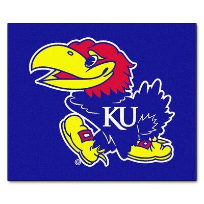 NCAA University of Kansas Indoor/Outdoor Area Rug