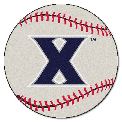 NCAA Xavier University Baseball Mat
