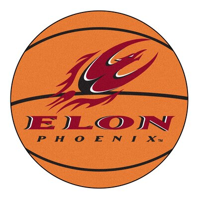 NCAA Elon University Basketball Mat