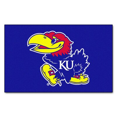 Collegiate NCAA University of Kansas Doormat