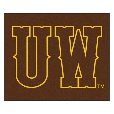 NCAA University of Wyoming Indoor/Outdoor Area Rug