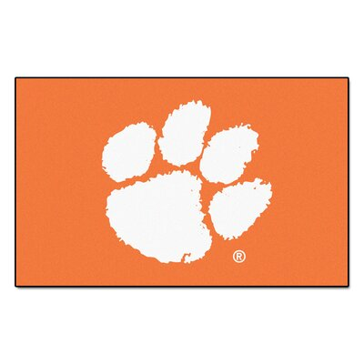 Collegiate NCAA Clemson University Doormat