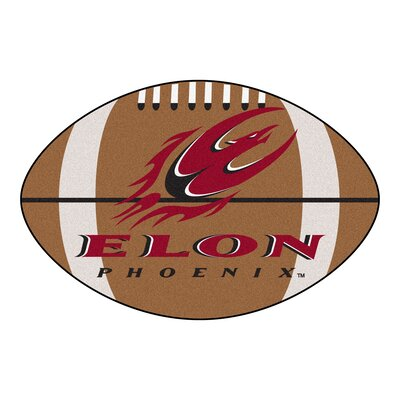 NCAA Area Rug NCAA Team: Elon University