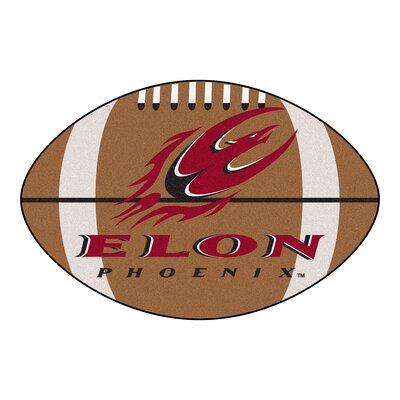 NCAA Elon University Football Mat