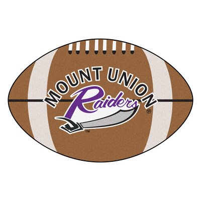 NCAA University of Mount Union Football Mat