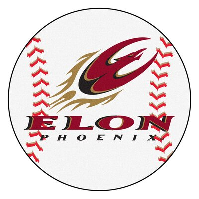 NCAA Elon University Baseball Mat
