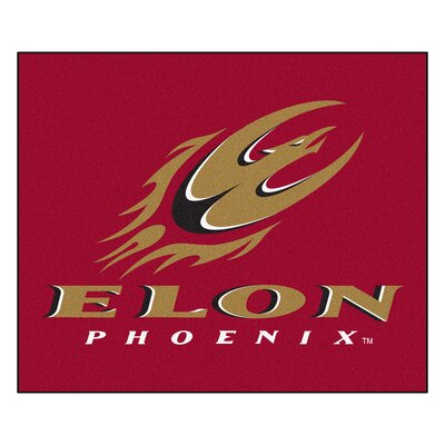NCAA Elon University Indoor/Outdoor Area Rug