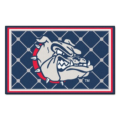 NCAA Gonzaga University Rug Rug Size: 310 x 6