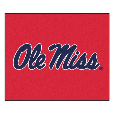 NCAA University of Mississippi (Ole Miss) Indoor/Outdoor Area Rug