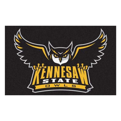 Collegiate NCAA Kennesaw State University Doormat