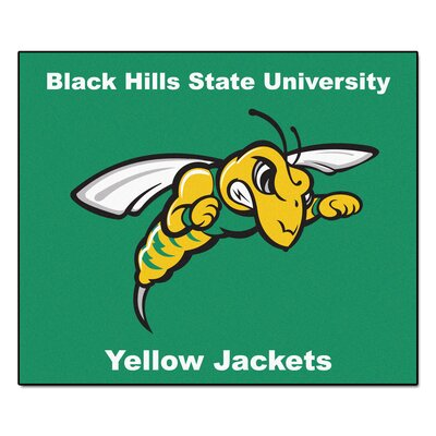 NCAA Black Hills State University Indoor/Outdoor Area Rug