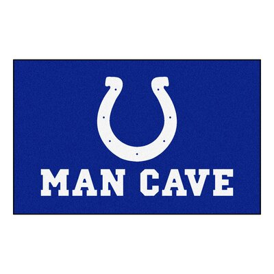 NFL - Indianapolis NCAAts Man Cave Indoor/Outdoor Area Rug Rug Size: 5 x 8