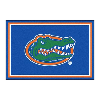NCAA University of Florida Rug Rug Size: 5' x 7'8
