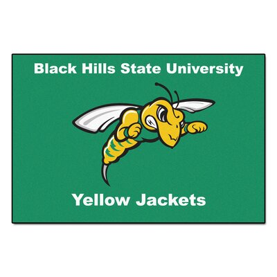 NCAA Black Hills State University Starter Mat