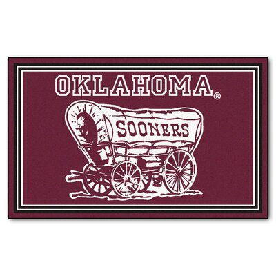 NCAA University of Oklahoma Rug Rug Size: 5 x 78