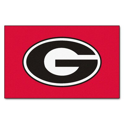 NCAA University of Georgia Ulti-Mat Color: Red
