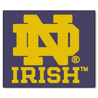 NCAA Notre Dame Indoor/Outdoor Area Rug