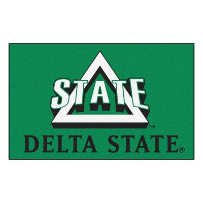Collegiate NCAA Delta State University Doormat