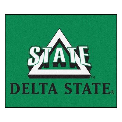 NCAA Delta State University Indoor/Outdoor Area Rug