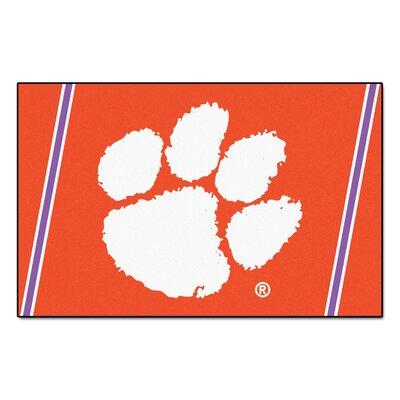 NCAA Clemson University Rug Rug Size: 3'10